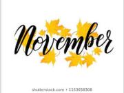 Novemberi tervezett programok