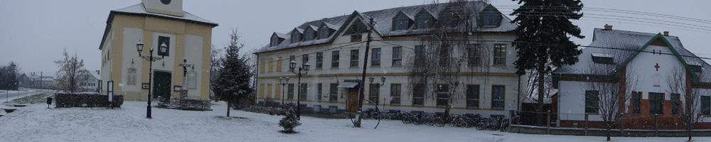 Iskola télen